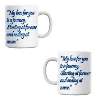 Journey White Coffee Mug