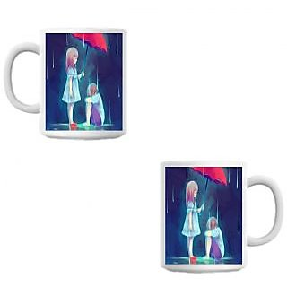 Dharni Cute White Coffee Mug