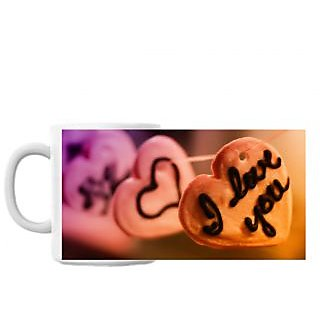 Love You Cookies Coffee Mug