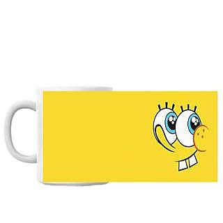 Yellow Cartoon Coffee Mug