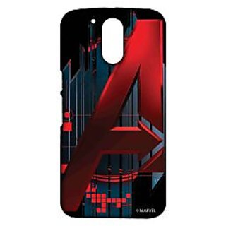 Avengers Logo Phone Cover for Moto G4 by Block Print Company