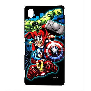 Avengers Fury Phone Cover for Sony M4 Aqua by Block Print Company