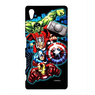 Avengers Fury Phone Cover for Sony Z5 by Block Print Company
