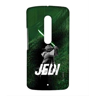 Furious Yoda Phone Cover for Moto X play by Block Print Company