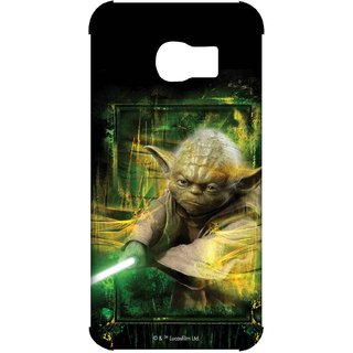 Furious Yoda Phone Cover for Samsung S7 Edge by Block Print Company