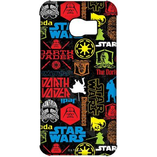 Star wars mashup Phone Cover for Samsung S7 Edge by Block Print Company