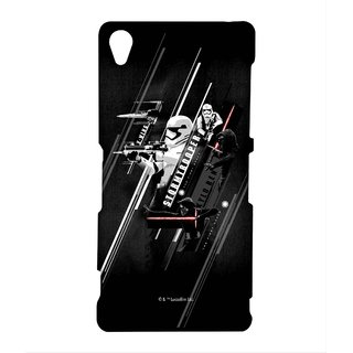 Episode VII Phone Cover for Sony Z3 by Block Print Company