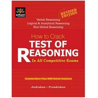 How to Crack Test of Reasoning : In All Competitive Exam (English) 6th Edition