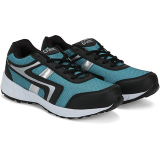 Gatik Mens Blue  Black Sports Shoes