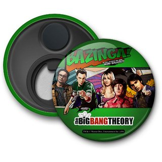 The Big Bang Theory  - Comic Style Fridge Magnet licensed by Warner Bros