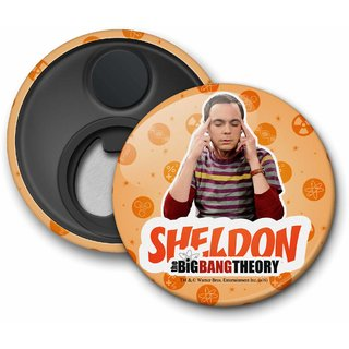 The Big Bang Theory - Sheldon Fridge Magnet licensed by Warner Bros