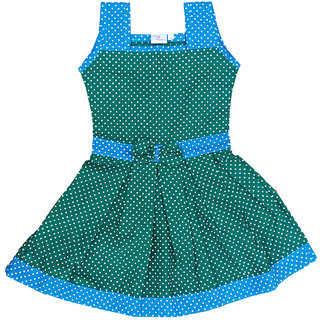 Flora Printed Cotton Dresses For Girls (0-13 yrs)