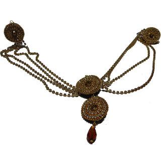 NOORINA Decorative Maang Teeka Pins Hair Accessory Set