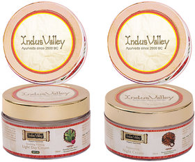 Indus valley Combo Kit- Light Day Cream and Night Cream