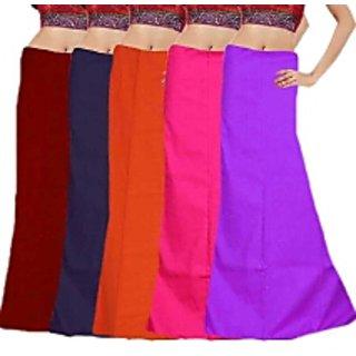 Set of 5 Cotton petticoat