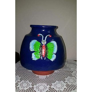 bohocraft Beautifully Crafted Handpainted blue