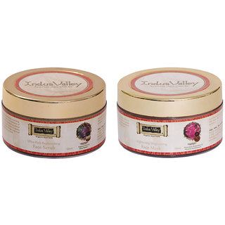 Indus valley Combo Pack- Face Mask and Face Scrub