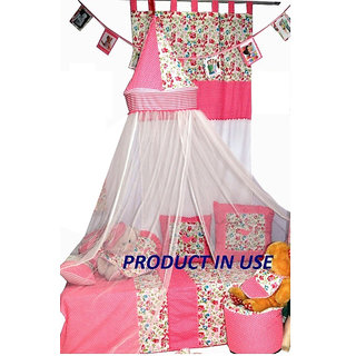 Creative Textiles Multicolor Mosquito Net Hanging Umrela  Style CTRDD98165 (1)
