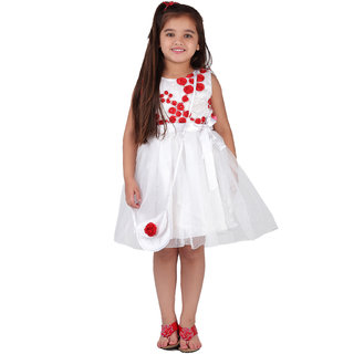 Love Bugs White Empire Body Dress