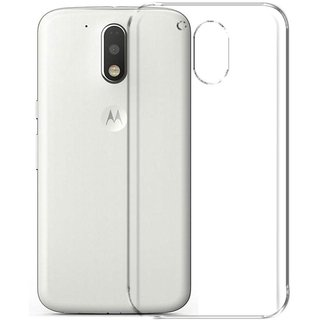 Motorola Moto G4 Plus Transparent Back cover by Casenit