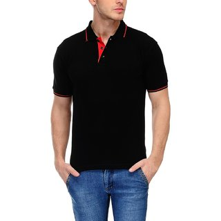 Mans Polo T-Shirt for Men (Black)