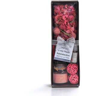 Rakshabandhan Rakhi gifts for Brother/Sister-Combo Gift Box   Deco ARO