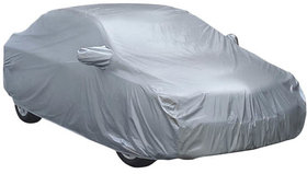 OLD WAGON R (1999-2010)-SILVER CAR BODY COVER WITH SIDE MIRROR POCKETS-HMS