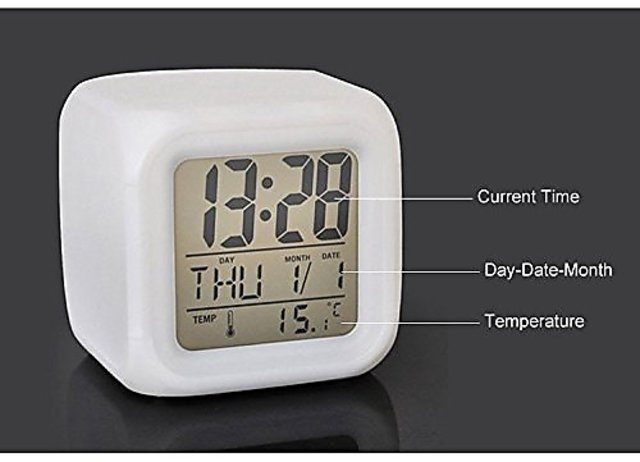 Ten india Digital Alarm Clock