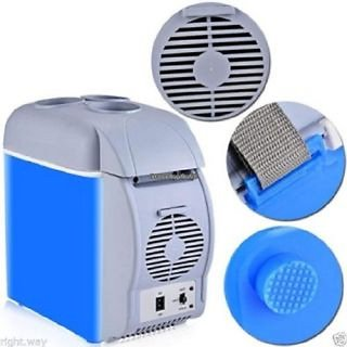 PORTABLE MINI FRIDGE DC Cooler and Warmer Auto Car + FREE HANDSFREE
