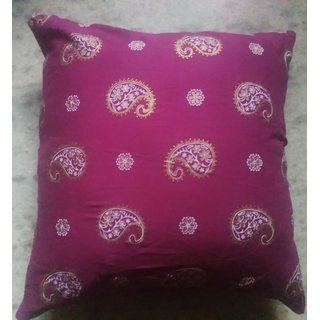 Printed 16 inch cushion cover set  of 2 by FB creations