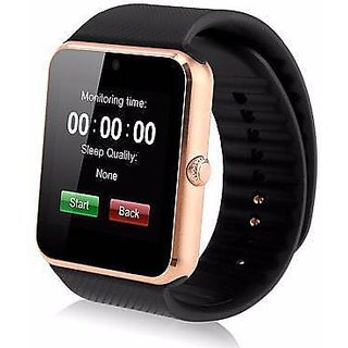 GT08 Smart watch for Android phones with sim card facility  Memory Card Slot