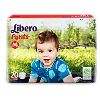 libero pant style diaper medium 20 pcs pack of 1