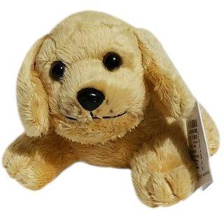 Soft Buddies Sweet Puppies Dog Car Rear Tray Toy, Beige (6-inch)