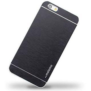 Motomo Metallic Finish Hard Back Case Cover For iPhone 6G Plus  (Black)