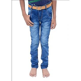 Kaylon LifeStyle shaded blue slim fit Kids Jeans