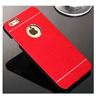 Motomo Metallic Finish Hard Back Case Cover For iPhone 6G Plus  (Red)