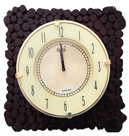 Ajanta Wooden Clock