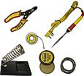 Soldering Iron Kit with Wire Stripper for engineering project