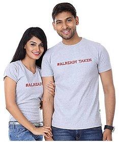 Already Taken Tshirt Combo for Couple