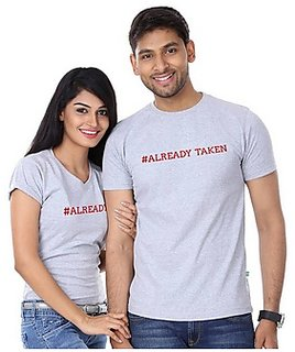 Already Taken Tshirt Combo for Couple
