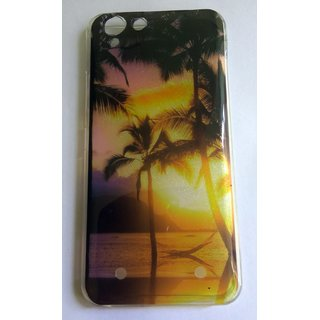 Printed 9D Flexible Soft TPU Slim Back Case Cover For Lenovo K5 Plus