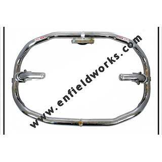 8 BENT CHROME ENFIELD BULLET CRASH/SAFETY GUARD