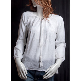 Redtag girl ladies top in 2 different color white and pink