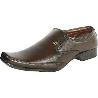 Samson  Slip On Shoes(Brown)