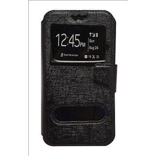 Universal Black Flip Cover / Case for Vivo X3S by GEOCELL