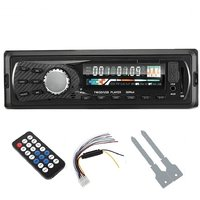 MEDHA Car Stereo with built-in FM, MP3, USB, SD Card Media Player Support  AUX IN