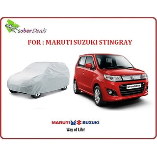 Original  imported Maruti Suzuki STINGRAY car body cover - at best price @ fair online shopping.