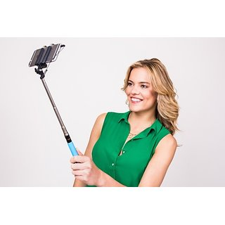 Selfie Selfie Stick For Mobile (Black)