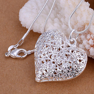 915 Silver Heart Pendant Gift For Loved One