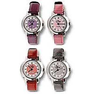 combo of Wrist Watch For Women Set of 4